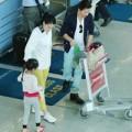 Làng sao - Vợ chồng Trương Ngọc Ánh đưa con gái xuất ngoại