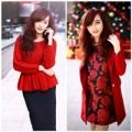 Thời trang - Công sở tỏa sáng với sắc đỏ trong mùa Noel
