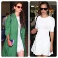 Thời trang - Sao đua nhau diễn thời trang ở sân bay