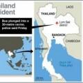 Tin tức - Thái Lan: Xe buýt lao xuống vực, 29 người chết
