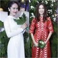 Thời trang - Thanh Thúy mặc áo dài 'ăn đứt' Thùy Dung