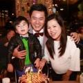 Làng sao - Trương Minh Cường rạng rỡ bên vợ bầu 9 tháng