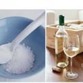 Làm đẹp - Công thức mịn da từ rượu và muối