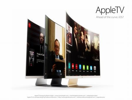 y tuong thiet ke chiec apple hdtv cong tuyet dep - 3