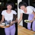 Làng sao - Trang Trần đội tóc giả ngày lên chức bà chủ