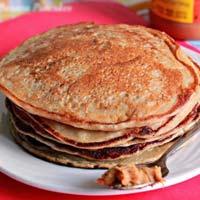 Đơn giản với pancake chuối thơm nức