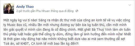 "thanh thao: ""thuy vinh xem thuong luat phap"" - 2"