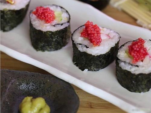 tu lam sushi cuc don gian - 9
