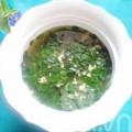 Bếp Eva - Canh rau chùm ngây nấu thịt băm