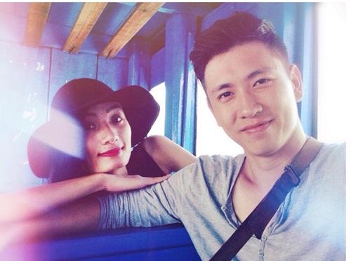 le thuy hanh phuc du lich cung chong sap cuoi - 2