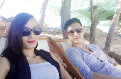 le thuy hanh phuc du lich cung chong sap cuoi - 3