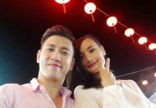 le thuy hanh phuc du lich cung chong sap cuoi - 9