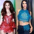 Thời trang - Sao Việt với úp mở cơ thể với váy cắt laser