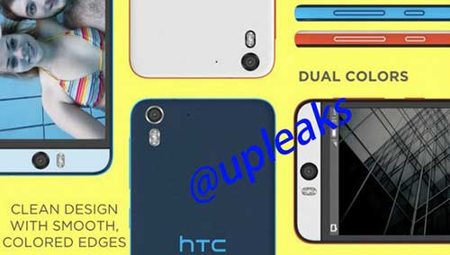 lo hinh anh htc desire eye voi camera truoc 13 mp, flash kep - 2