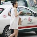 Làng sao - Diễm Hương bị giật điện thoại khi mang bầu 6 tháng