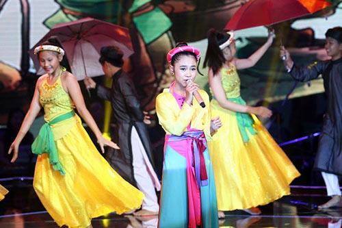 thien nhan tro thanh quan quan giong hat viet nhi 2014 - 5