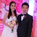 Làng sao - Ninh Hoàng Ngân rạng rỡ bên chồng đại gia trong đám cưới