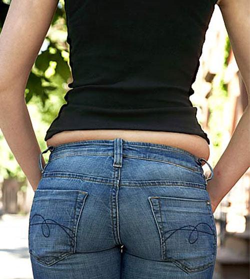 "chon quan jeans ""tri"" mong lep, chan to - 1"