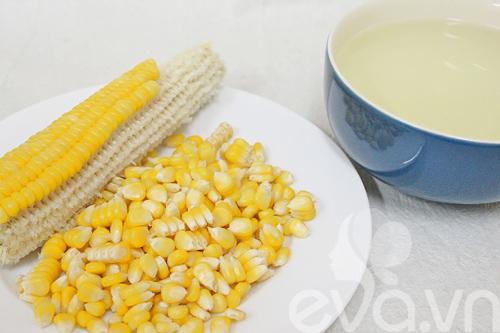Cách làm sữa ngô nóng thơm ngon - 3