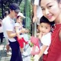 Làng sao - Vợ chồng Đăng Khôi đưa con trai đi chơi cuối tuần