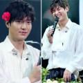 Làng sao - Lee Min Ho ăn mặc điệu đà cài hoa lên tóc