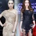 Thời trang - Quách An An gợi cảm với váy xuyên thấu