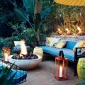 Những ý tưởng  ' giá rẻ '  trang trí sân vườn đẹp