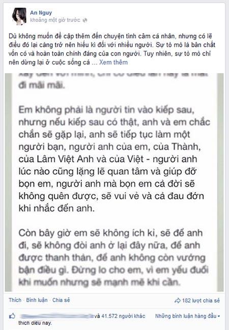 "an nguy viet ""tam thu"" ve viec chia tay toan shinoda - 1"