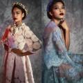 Thời trang - Chọn đầm dạ hội mùa thu cùng Lâm Thu Hằng