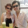 Làng sao - Vũ Hoàng Việt và người yêu tình tứ khi đi ăn