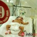 Tin tức - Mẹ ung thư nguy kịch, mổ bắt thai cứu bé gái 34 tuần tuổi