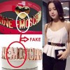 Thời trang - Đừng để thắt lưng Moschino rởm