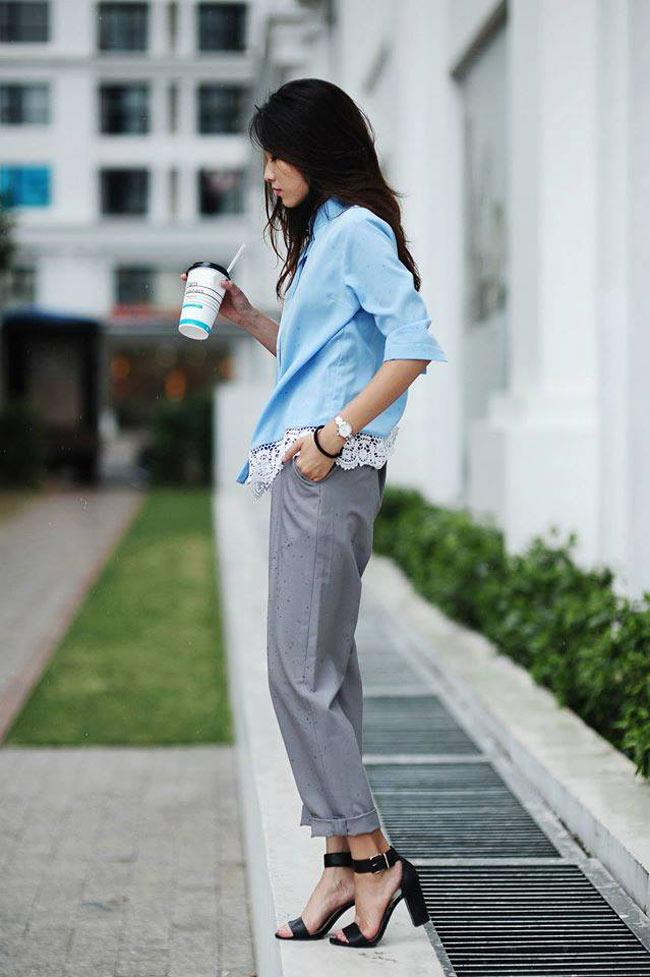 Trần Thu Trang, 24 tuổi, gắn bó với thời trang từ công việc thiết kế và chụp hình sản phẩm
