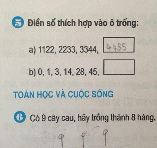 """nhung bai tap tieu hoc """"hai nao"""" ca nguoi lon - 5"""