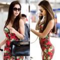 Làng sao - Jennifer Phạm khoe dáng chuẩn gợi cảm ở sân bay