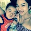 Làng sao - Bạn gái Ưng Hoàng Phúc tiết lộ ảnh con trai đáng yêu