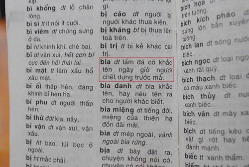 khiep dam tu dien tieng viet: cao cau la vua cao vua cau - 13