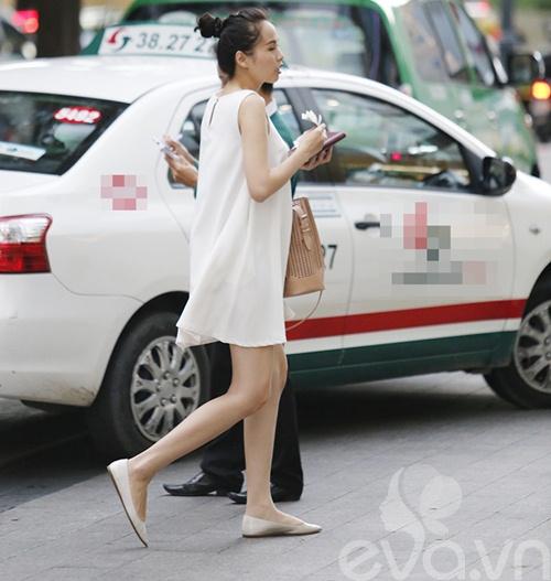 Thời trang bầu bí an toàn của Diễm Hương-8