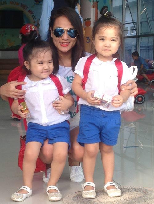 Những nhóc tỳ song sinh đáng yêu của Sao Việt-12