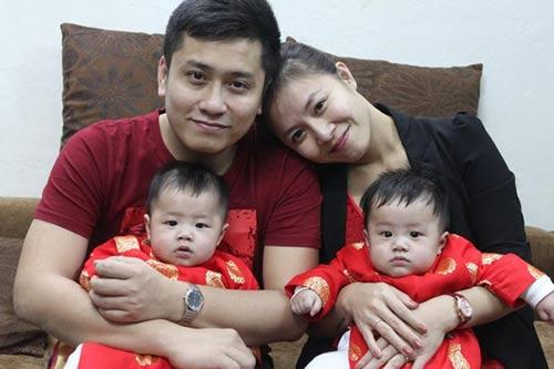 Những nhóc tỳ song sinh đáng yêu của Sao Việt-13
