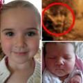 Bà bầu - Kỳ lạ gương mặt cụ bà xuất hiện trong video siêu âm thai