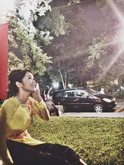 Subeo cùng bố ngắm pháo hoa ở Hà Nội-3