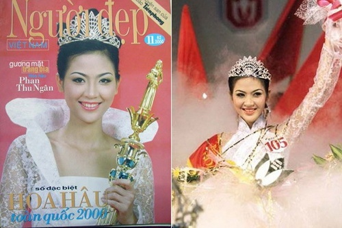 HH Phan Thu Ngân tái xuất mừng Văn Thành Công-1