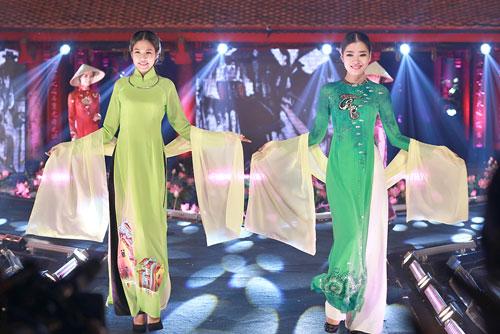"""rung rung tu hao voi """"le hoi ao dai huong sac ha noi"""" - 3"""