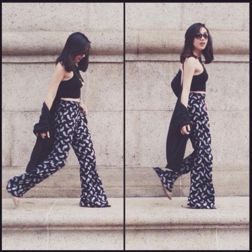 Hotgirl Việt sành điệu với áo cardigan dáng dài - 2
