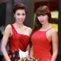 Làng sao - Hồng Quế đọ sắc cùng siêu mẫu Hà Anh