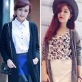 Thời trang - Hotgirl Việt sành điệu với áo cardigan dáng dài