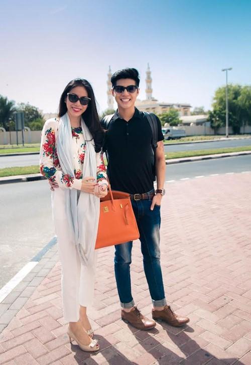Thủy Tiên sành điệu bên Noo Phước Thịnh tại Dubai-1