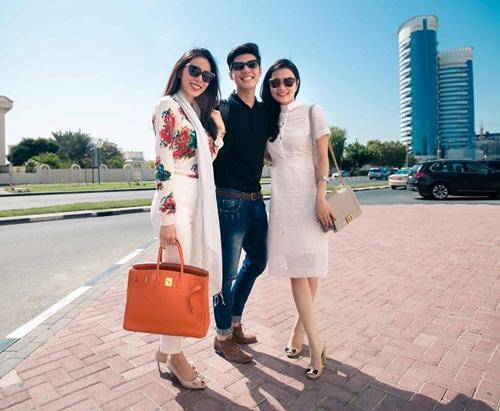 Thủy Tiên sành điệu bên Noo Phước Thịnh tại Dubai-4
