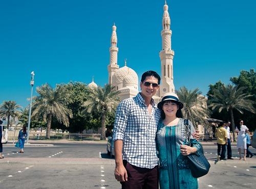 Thủy Tiên sành điệu bên Noo Phước Thịnh tại Dubai-8